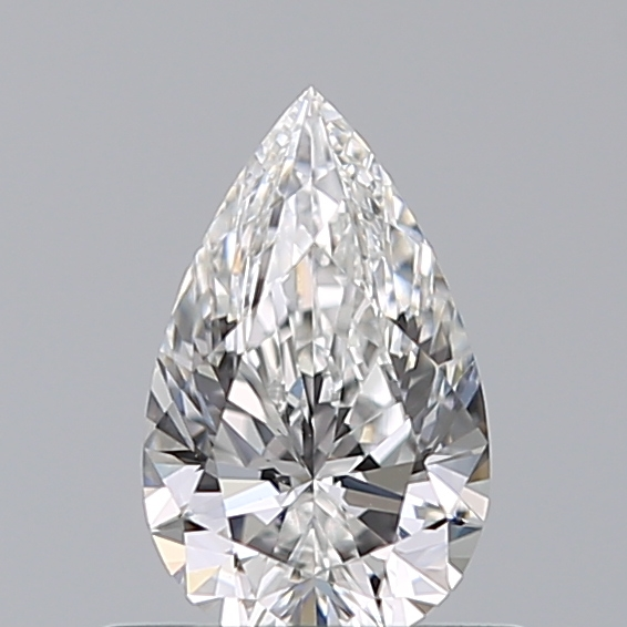 0.52 Carat Pear Loose Diamond, F, VS2, Super Ideal, GIA Certified | Thumbnail