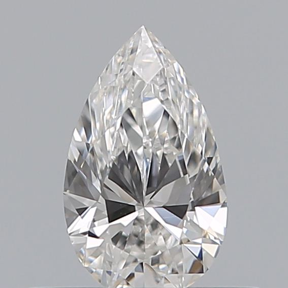0.32 Carat Pear Loose Diamond, E, VS2, Excellent, GIA Certified