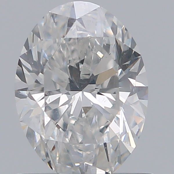 0.70 Carat Oval Loose Diamond, F, SI1, Super Ideal, GIA Certified