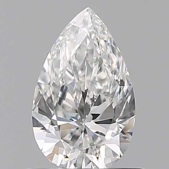 0.51 Carat Pear Loose Diamond, F, VS1, Super Ideal, GIA Certified