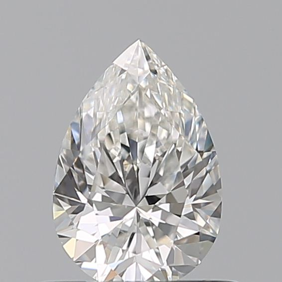 0.50 Carat Pear Loose Diamond, F, VS2, Ideal, GIA Certified