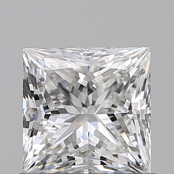 0.66 Carat Princess Loose Diamond, E, VS2, Super Ideal, GIA Certified
