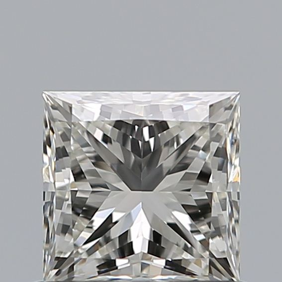 0.73 Carat Princess Loose Diamond, J, VS1, Super Ideal, GIA Certified