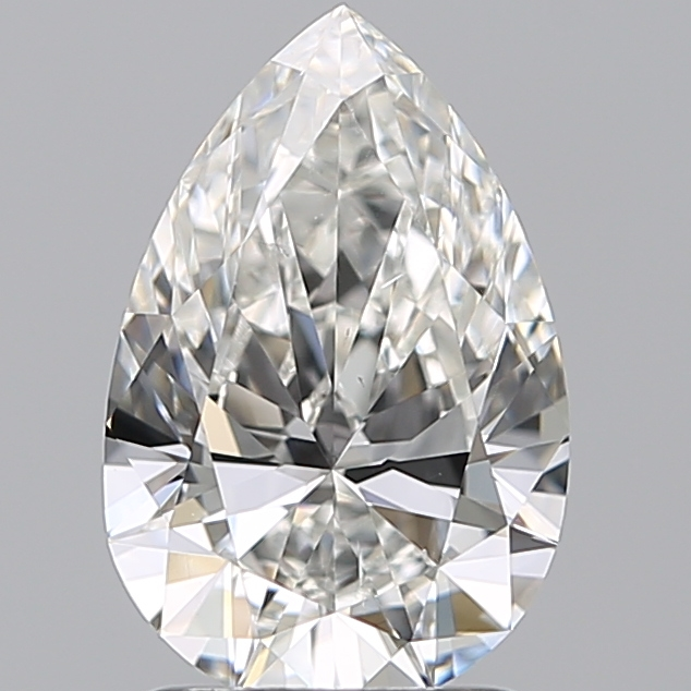 1.51 Carat Pear Loose Diamond, F, VS2, Super Ideal, GIA Certified | Thumbnail