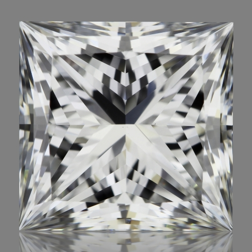 2.04 Carat Princess Loose Diamond, E, VS1, Super Ideal, GIA Certified