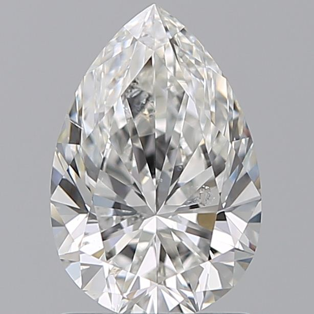 1.20 Carat Pear Loose Diamond, G, SI2, Super Ideal, GIA Certified