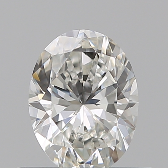 0.42 Carat Oval Loose Diamond, G, VVS2, Excellent, GIA Certified
