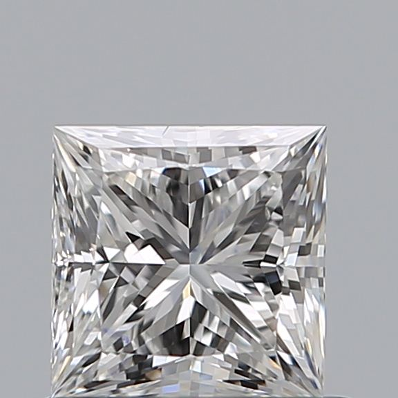 0.71 Carat Princess Loose Diamond, G, VS2, Super Ideal, GIA Certified