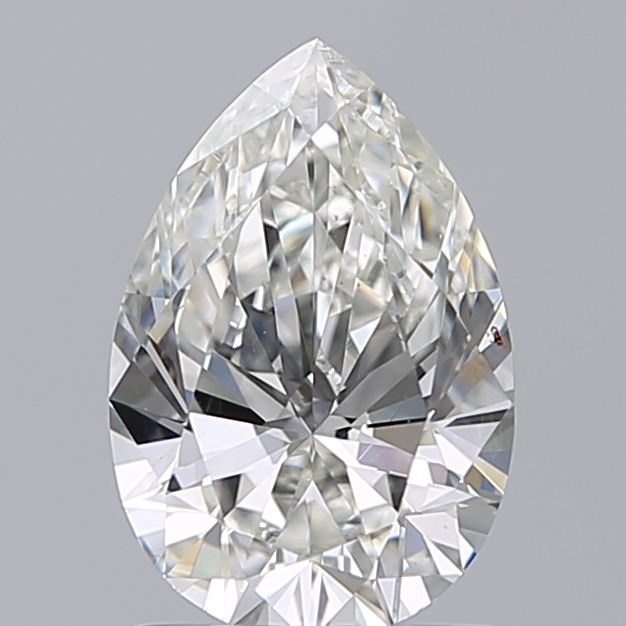 1.01 Carat Pear Loose Diamond, I, SI1, Super Ideal, GIA Certified
