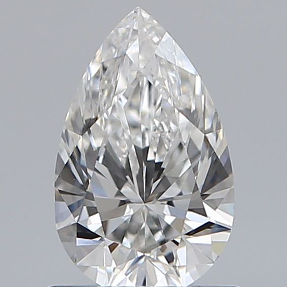 0.75 Carat Pear Loose Diamond, F, VVS1, Super Ideal, GIA Certified | Thumbnail