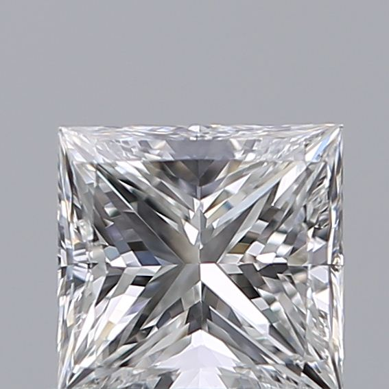 0.70 Carat Princess Loose Diamond, E, VS1, Excellent, GIA Certified