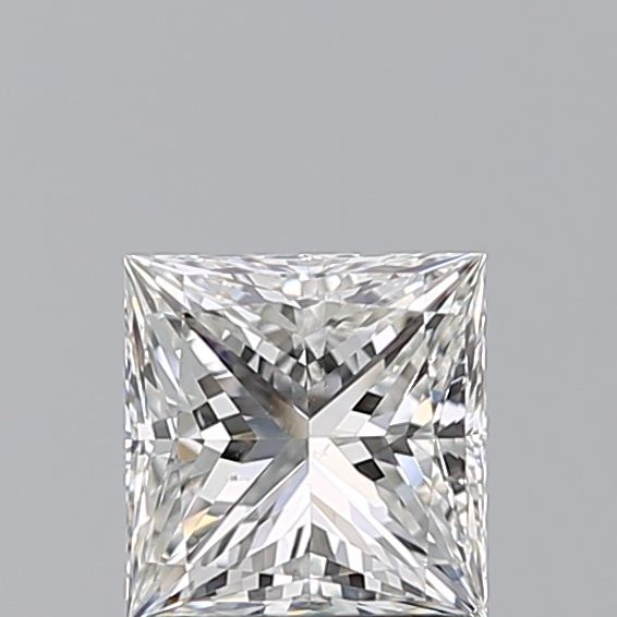 1.00 Carat Princess Loose Diamond, G, VS2, Super Ideal, GIA Certified