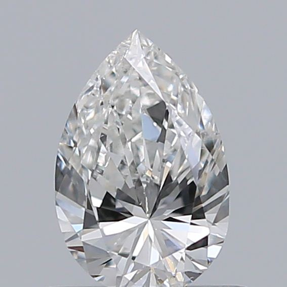 0.50 Carat Pear Loose Diamond, G, SI1, Excellent, GIA Certified