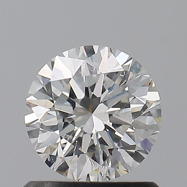 0.82 Carat Round Loose Diamond, G, I1, Excellent, GIA Certified