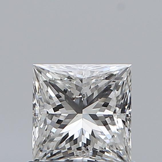 0.72 Carat Princess Loose Diamond, G, SI2, Ideal, GIA Certified