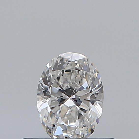 0.33 Carat Oval Loose Diamond, F, VS2, Ideal, GIA Certified