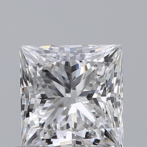 0.50 Carat Princess Loose Diamond, E, SI1, Ideal, GIA Certified
