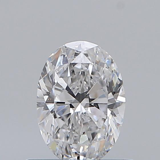 0.52 Carat Oval Loose Diamond, D, SI1, Super Ideal, GIA Certified | Thumbnail