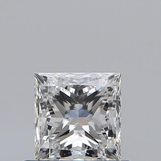 0.59 Carat Princess Loose Diamond, F, VS1, Ideal, GIA Certified