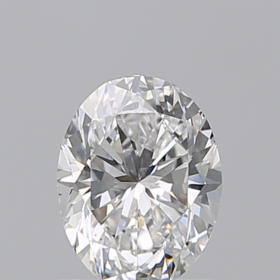 0.90 Carat Oval Loose Diamond, D, VS2, Excellent, GIA Certified