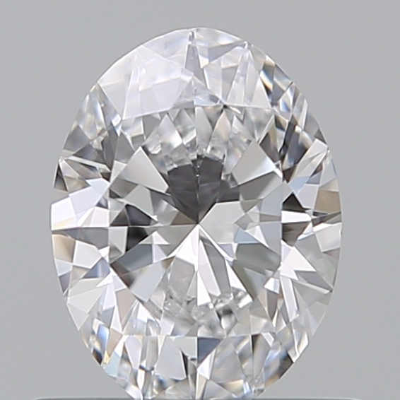 0.50 Carat Oval Loose Diamond, D, VS1, Ideal, GIA Certified | Thumbnail