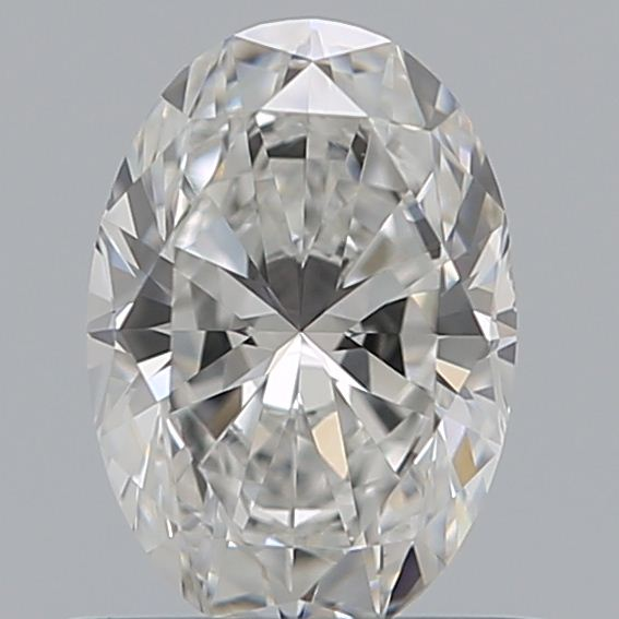 0.59 Carat Oval Loose Diamond, D, VS2, Ideal, GIA Certified | Thumbnail
