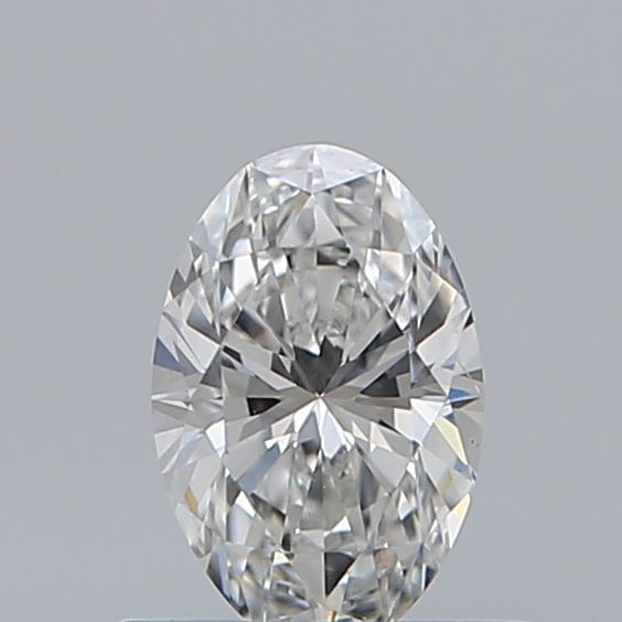 0.50 Carat Oval Loose Diamond, F, SI1, Ideal, GIA Certified | Thumbnail