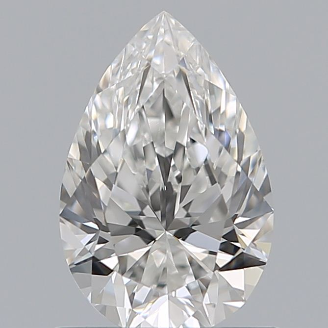 0.72 Carat Pear Loose Diamond, F, VS1, Super Ideal, GIA Certified