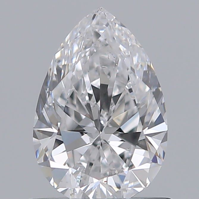 0.70 Carat Pear Loose Diamond, D, SI1, Ideal, GIA Certified