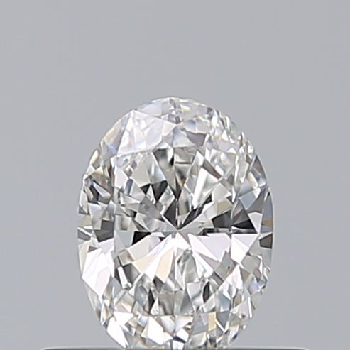 0.35 Carat Oval Loose Diamond, F, VS2, Ideal, GIA Certified | Thumbnail