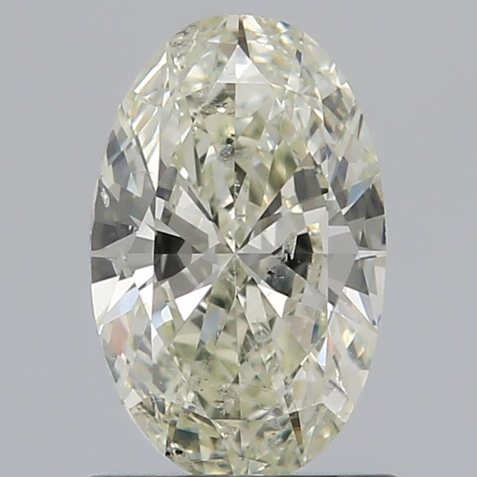 0.80 Carat Oval Loose Diamond, M, SI2, Excellent, GIA Certified