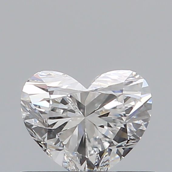 0.40 Carat Heart Loose Diamond, D, VS2, Ideal, GIA Certified | Thumbnail