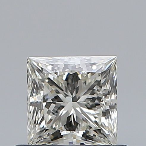 0.51 Carat Princess Loose Diamond, K, VS2, Ideal, GIA Certified