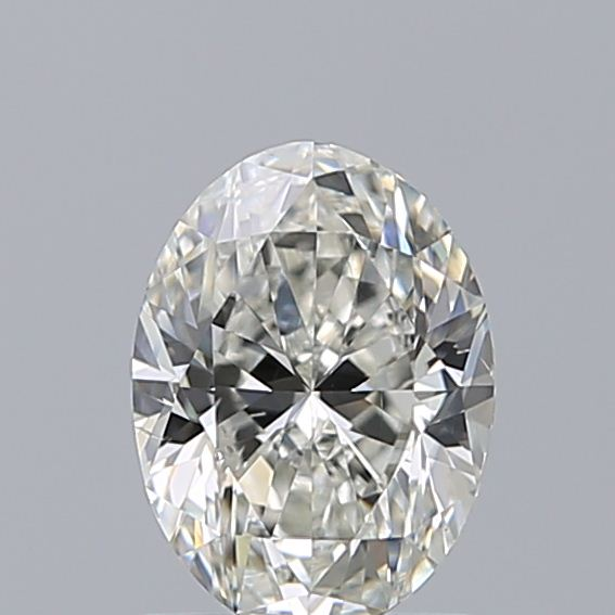 1.00 Carat Oval Loose Diamond, I, SI1, Excellent, GIA Certified