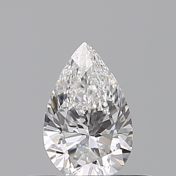 0.31 Carat Pear Loose Diamond, E, VS2, Excellent, GIA Certified