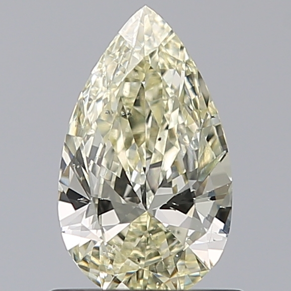 0.70 Carat Pear Loose Diamond, N, SI2, Excellent, GIA Certified