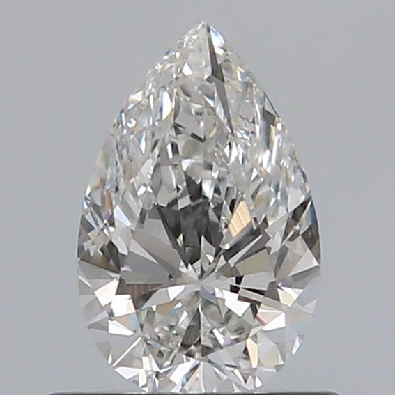 0.50 Carat Pear Loose Diamond, G, VS2, Ideal, GIA Certified