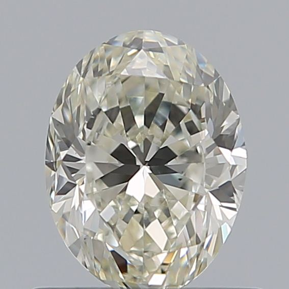 0.70 Carat Oval Loose Diamond, K, VS1, Excellent, GIA Certified