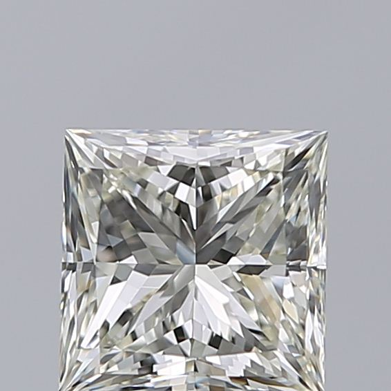 1.01 Carat Princess Loose Diamond, K, VVS1, Super Ideal, GIA Certified