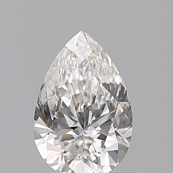 0.41 Carat Pear Loose Diamond, F, VS1, Ideal, GIA Certified