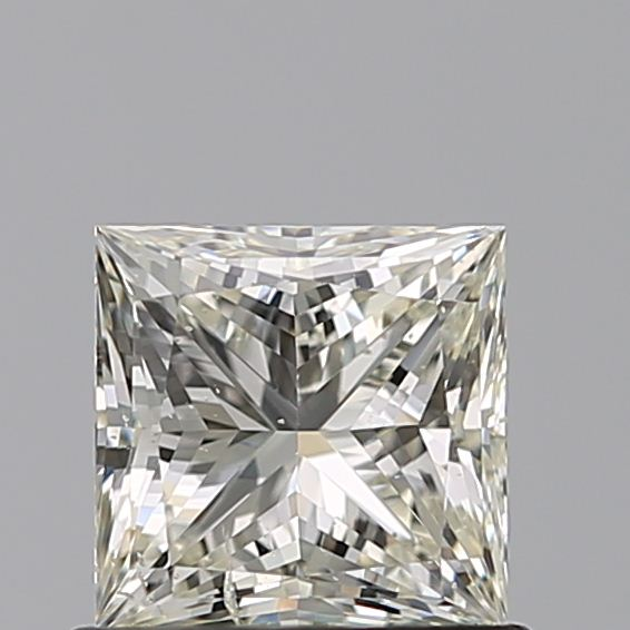 0.70 Carat Princess Loose Diamond, L, SI2, Ideal, GIA Certified
