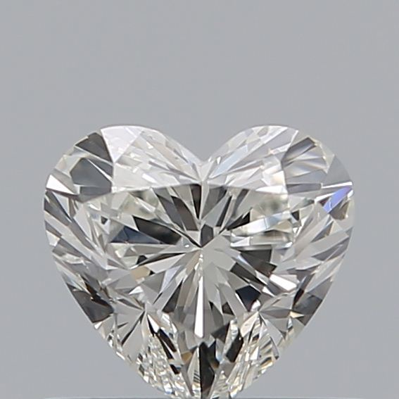 0.51 Carat Heart Loose Diamond, I, SI1, Excellent, GIA Certified