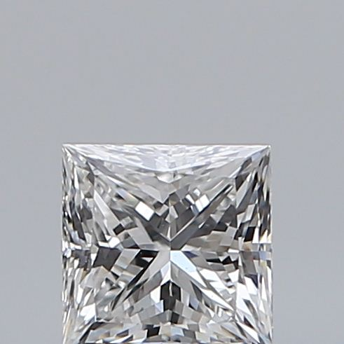 0.50 Carat Princess Loose Diamond, E, VS2, Super Ideal, GIA Certified