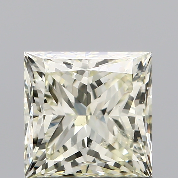 1.01 Carat Princess Loose Diamond, S-T, VVS2, Super Ideal, GIA Certified