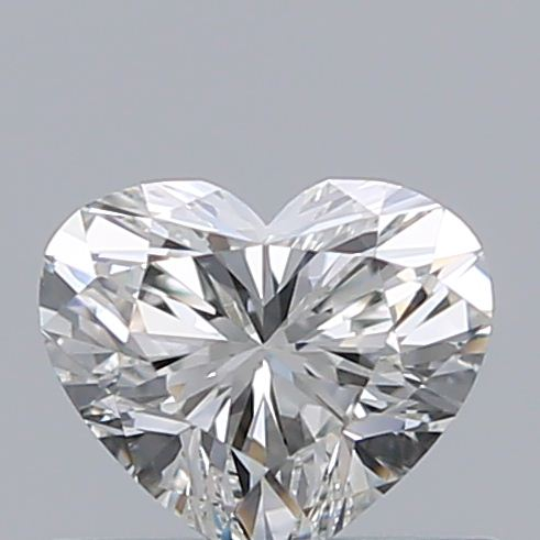 0.41 Carat Heart Loose Diamond, H, VS1, Super Ideal, GIA Certified | Thumbnail
