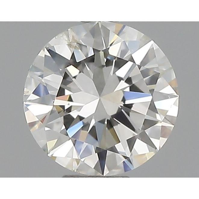 0.30 Carat Round Loose Diamond, H, SI2, Excellent, GIA Certified