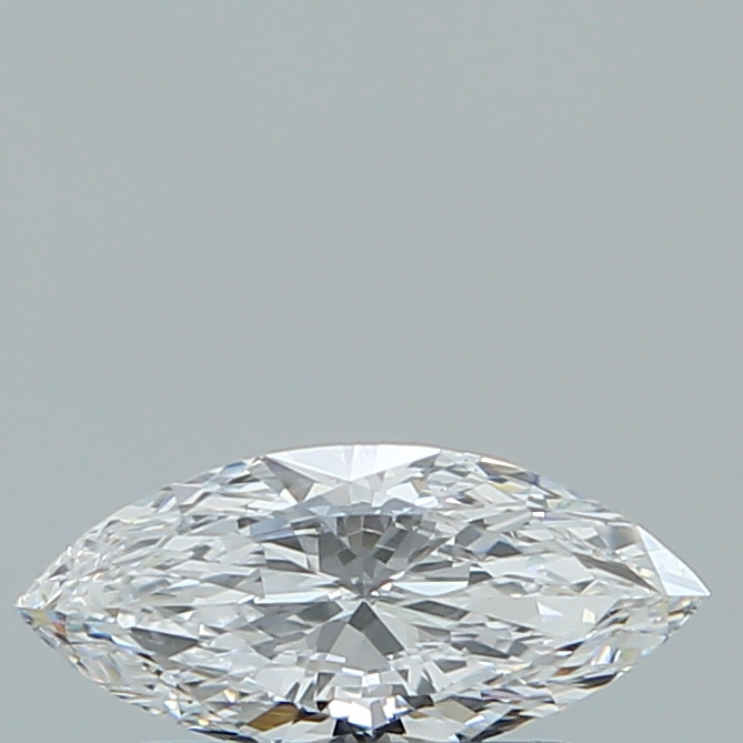 0.41 Carat Marquise Loose Diamond, D, VVS2, Ideal, GIA Certified | Thumbnail