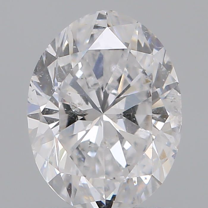 1.00 Carat Oval Loose Diamond, D, I1, Ideal, GIA Certified