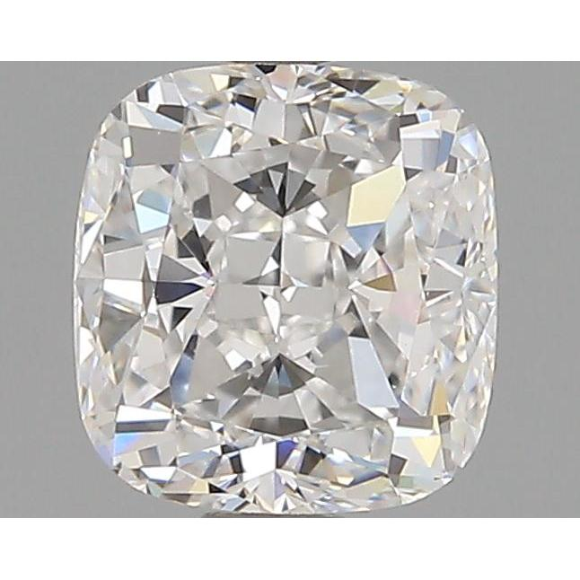 1.02 Carat Cushion Loose Diamond, F, VS2, Excellent, GIA Certified