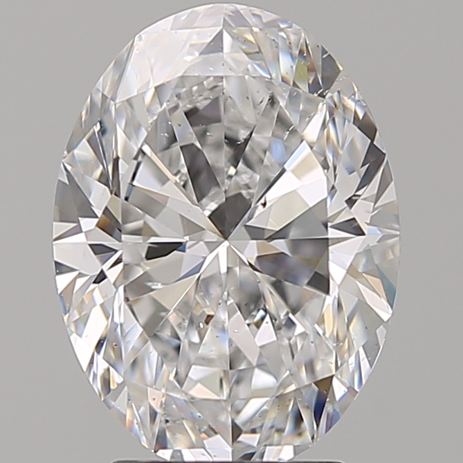 2.92 Carat Oval Loose Diamond, D, SI1, Super Ideal, GIA Certified